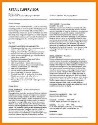 Skills For Resume Retail 8 Resume Retail Skills Letter Setup