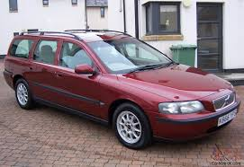 volvo v70 venitian red light arena leather wood trim