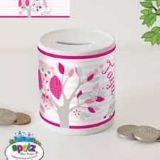 Keepsake Piggy Bank Personalised Kids Money Boxes Piggy Banks Spatz Mini Peeps