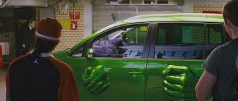 watch a bmw turn into the hulk when splashed with water nerdist
