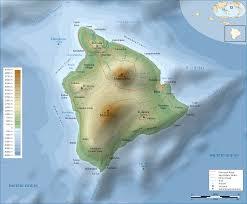 map of hawaii island hawaii island