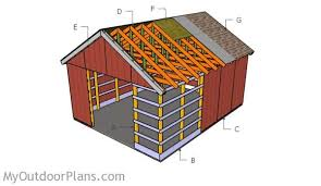 pole barn plans free pole barn plans myoutdoorplans free woodworking plans and