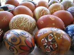 wax easter egg decorating pisanki a different way to make easter eggs orange