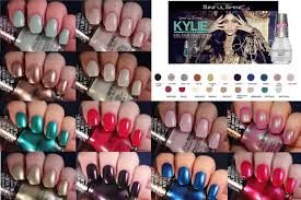 sinful colors king kylie collection live application review