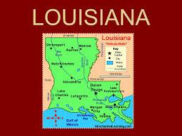 louisiana state map key louisiana ppt