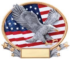 Eagle American Flag U0026 American Flag Oval U003cp U003efree Engraving