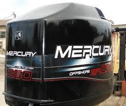 used mercury 250 hp efi 2 stroke outboard motor for sale