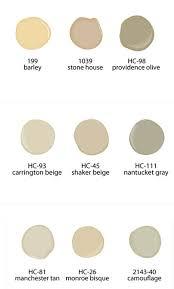 shaker beige neutral paint colors from benjamin moore paints