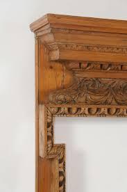 georgian carved pine and lime wood fireplace mantel u2013 acroterion