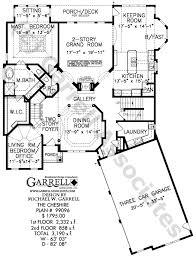 cheshire house plan house plans by garrell associates inc