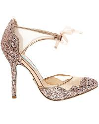 betsey johnson blue wedding shoes blue by betsey johnson sb stela chagne wedding shoes the knot
