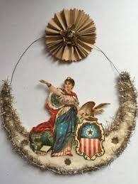 Antique Victorian Christmas Ornaments - victorian christmas ornaments dresden star heirloom ornaments