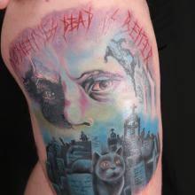 big tattoo planet cat big tattoo planet
