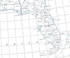 Florida rivers images Florida lakes and rivers 1954 jpg