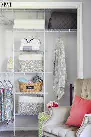 Closetmaid System How To Makeover Your Closet For U003c 100 Monica Wants It