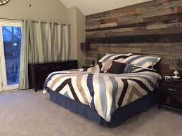 wooden wall bedroom reclaimed wood chicago residential reclaimed wood projects