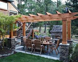 Patio Designs With Pergola by 202 Best Patio Ideas Images On Pinterest Pergola Ideas Patio