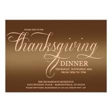 formal thanksgiving invitations announcements zazzle