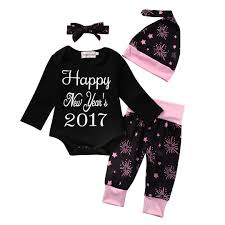 new year baby clothes 2017 wholesale happy new year baby clothing set baby boy