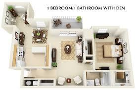 best one bedroom apartments with den home style tips marvelous