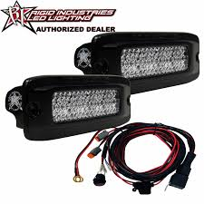 Flush Mount Led Lights Rigid Industries Flush Mount Dually D2 Srm Srq Led Light