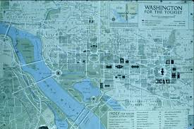 Map Of Washington by Of Washington Dc Usa