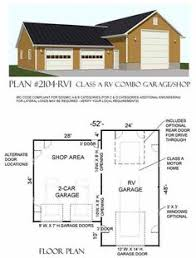 Rv Garage With Living Space Rv Garages With Living Quarters Shop Space And Other Living