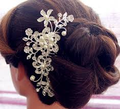 hair brooch hair comb wedding haircomb bridal comb wedding hair comb