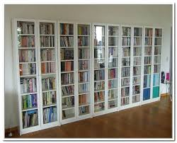 Small Bookcases With Glass Doors Bookshelf With Doors Furniture Horizontal Bookcase Frosted Amazing