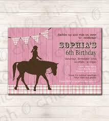Free Printable Birthday Invitation Cards Free Printable Horse Birthday Invitations Printable Birthday