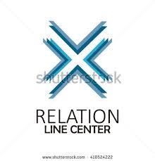 letter x font logo design isolated stock vector 648088642