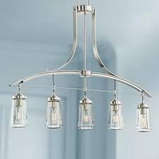 Nickel Island Light Kitchen Island Lighting Chandelier And Island Lights Ls Plus