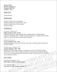 Resume Example Letter by 15 Flight Attendant Cv No Experience Basic Job Appication Letter