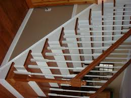 Stair Moulding Ideas by From Carpet To Wooden Stair Treads Guest Remodel Redoing Stairs