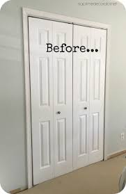 closet makeovers from boring bi folds to plank french doors the closet makeover