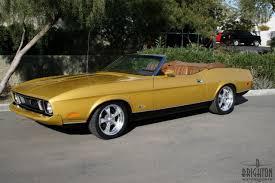 mach 1 mustang convertible ford mustang convertible 1973 brighton motorsports collector