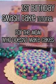 first birthday smash cake fain u0027s first birthday pinterest