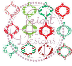 ornaments designs 12 designs as svg or studio files