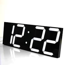 compare prices on large led wall clocks online shopping buy low