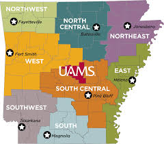 Fayetteville Ar Map Regional Programs U2013 Regional Centers