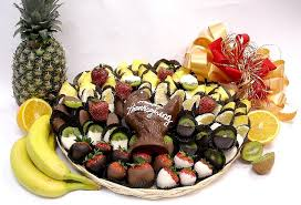thanksgiving fresh fruit chocolate platter le chocolatier