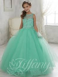 graduation dresses for kids beautiful mint green gown pageant dresses lace up back