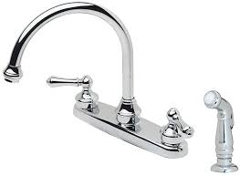 pfister lf 8h6 85bc savannah 2 handle kitchen faucet with side