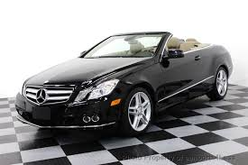 mercedes e350 convertible used 2011 used mercedes e350 cabriolet amg sport navi at