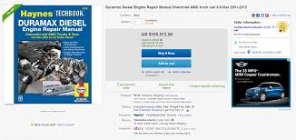 on sale 105 000 duramax repair manual 59 sold how can that be