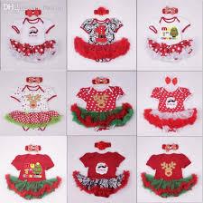 2017 wholesale newborn baby u0027s first christmas tutu dress cotton