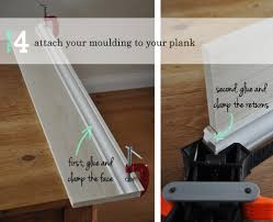 diy molding the painted hive how to add decorative trim to door frames
