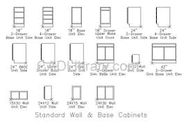 Standard Height For Kitchen Cabinets Simple Kitchen Cabinets Measurements Standard In Inspiration