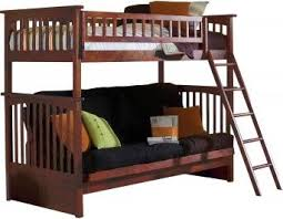 Wood Futon Bunk Bed Plans by 19 Best Bunk Beds Images On Pinterest 3 4 Beds Futon Bunk Bed