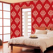red chandelier self adhesive wallpapers wallstickery com